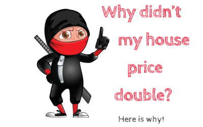 Why didn't my house price double? Here is why.