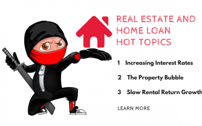 Real Estate and Home Loan Hot Topics